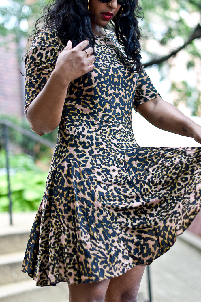 perfect print dress- comme coco