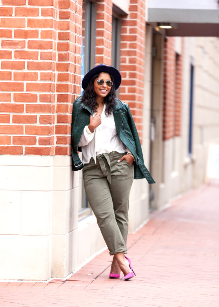 how to dress like your favorite blogger - baltimore harbor east
