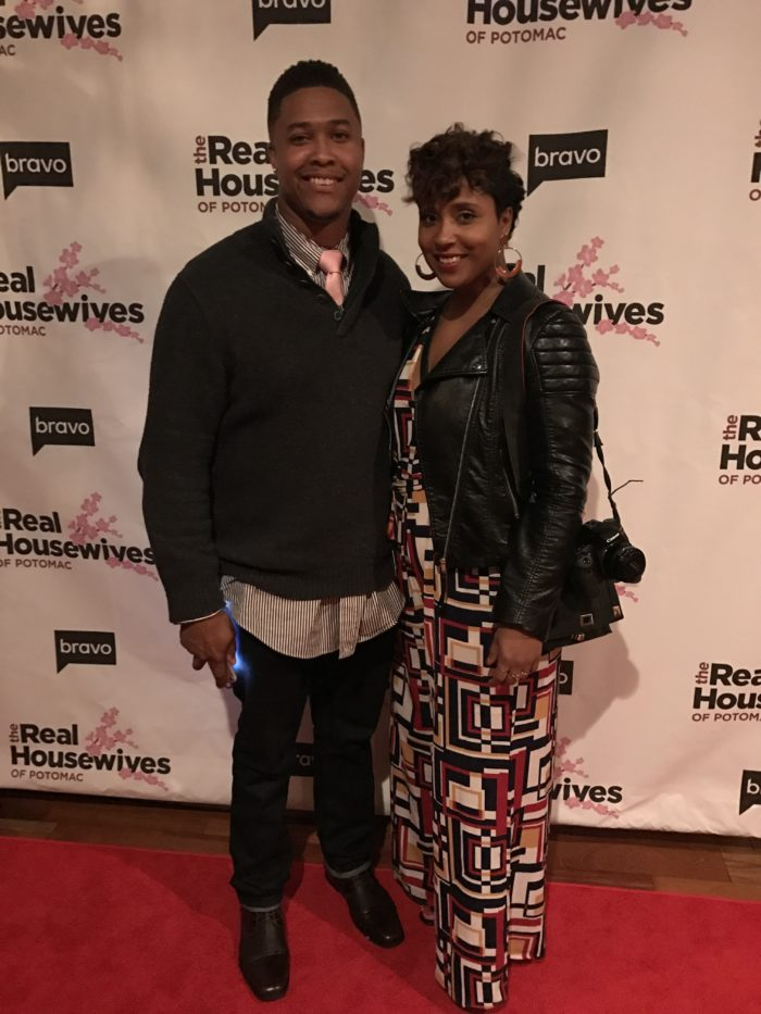real housewives of potomac season 2 premiere party
