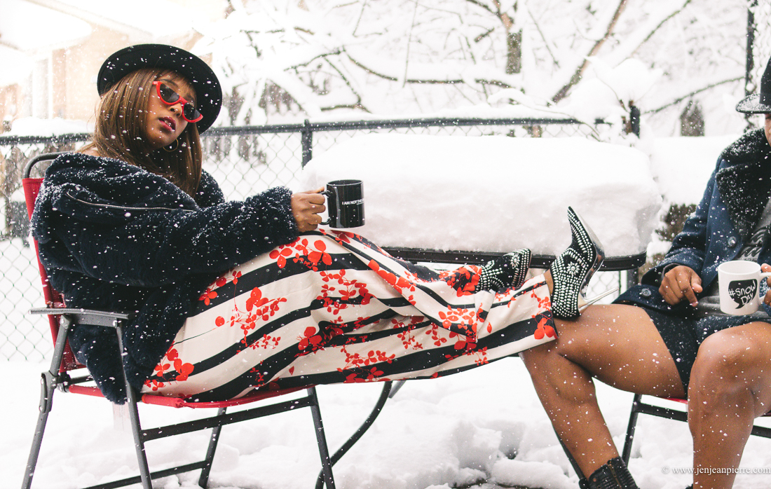 His + Her Style: Snow Day