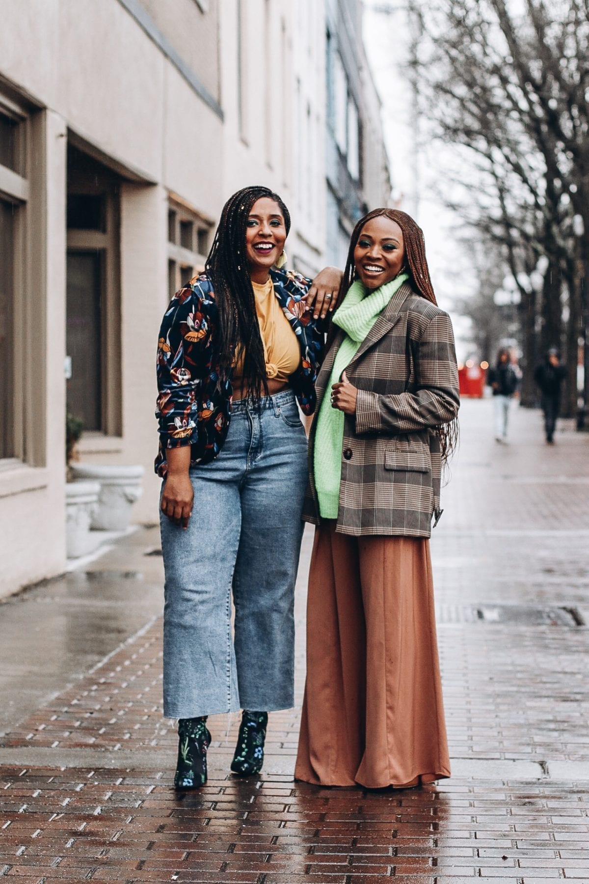 top female bloggers showcasing spring trends