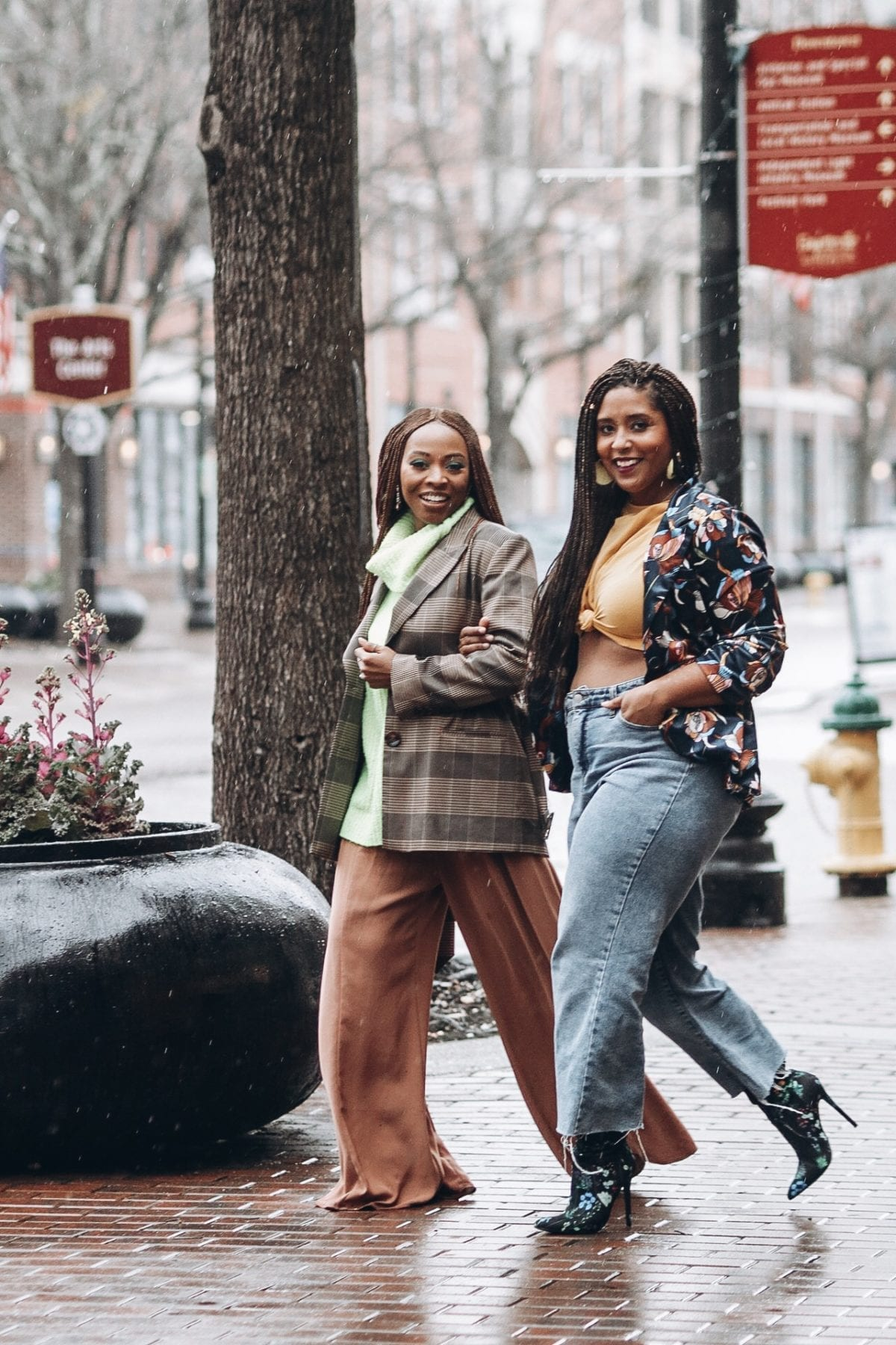 top black bloggers wearing spring trends